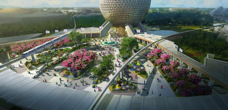 Finally! It's Epcot's Turn to Get Ready for the Party
